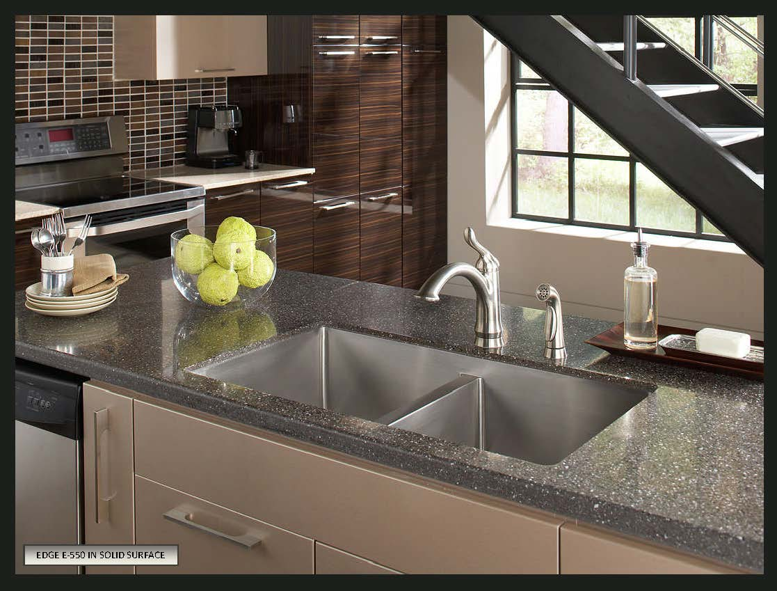 a solid sink steel dova countertops surface stainless youtube e undermount with watch countertop