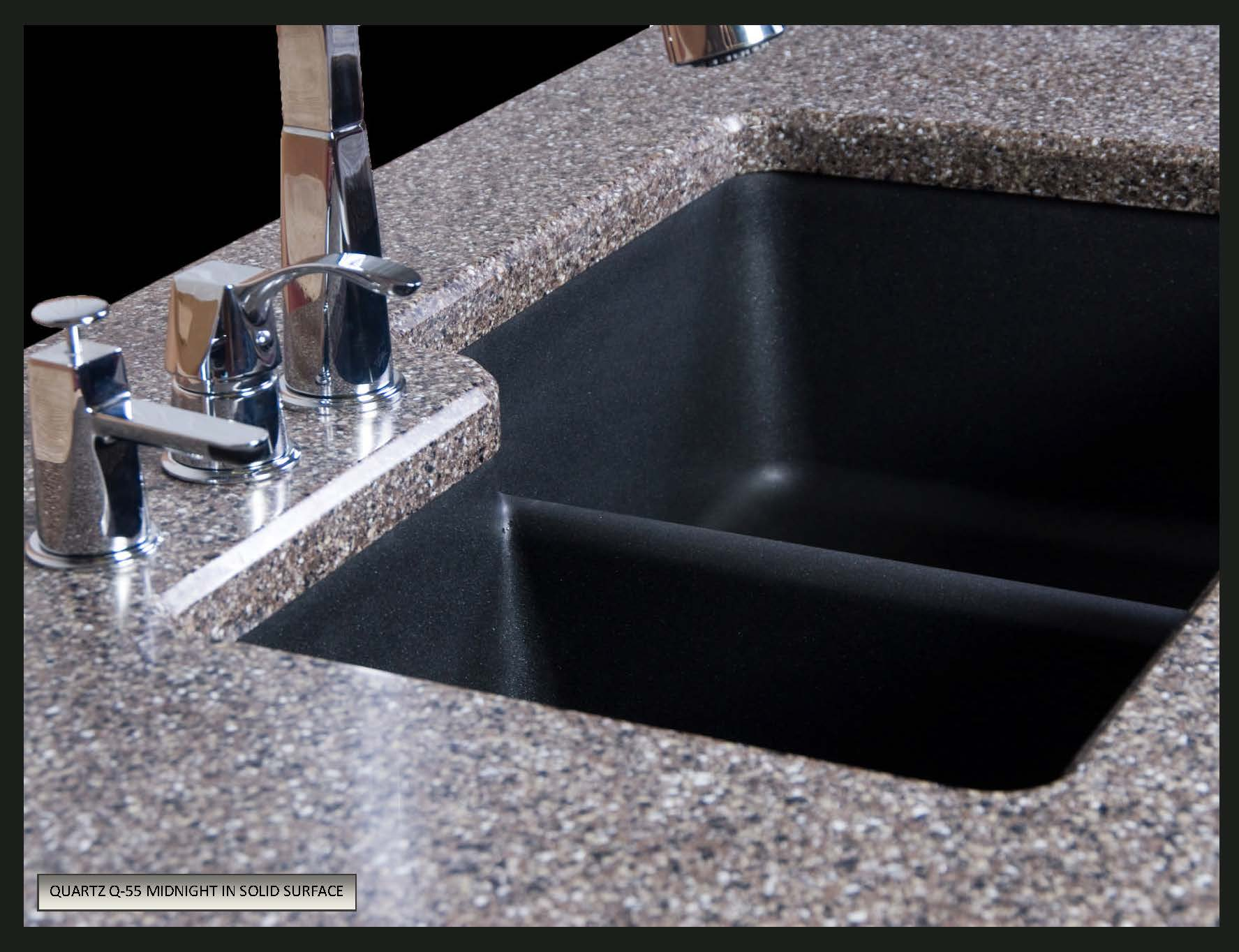 Granite composite kitchen sinks pros cons - Granite Or Quartz Composite Sinks Karran Quartz Undermount Sink