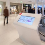 Furniture Created Out of LG Hausys' HI-MACS® Adds Streamlined Function & Cutting Edge Design to Beaugrenelle Commercial Center in Paris
