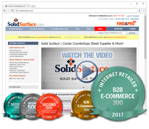 SolidSurface.com Top 300 B2B E-Commerce Site