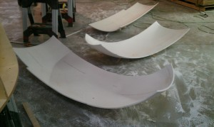 ASST thermoformed Corian® pieces (Fig. 1)