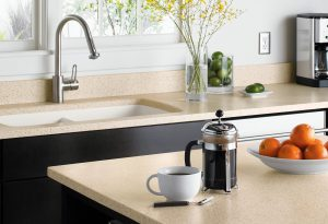 Solid surface used in DIY countertops