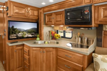 Recreation Vehicle Kitchen Countertop of Avonite Solid Surface