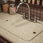 Solid Surface Countertop in a Recreation Vehicle
