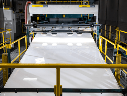 pid339 - Avonite Solid Surface Sheet Production Machine