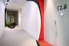 Hospitality, Staron Pure White Wall Cladding