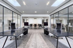 Avonite Solid Surface Work Surfaces in Office Setting