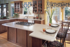 Residential Kitchen, HI-MACS Tambora Solid Surface Countertops