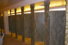 Corian Bathroom Partition Walls and Doors