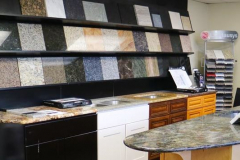 Countertop Materials Showroom 2. (Hero Shape)