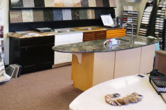 Countertop Materials Showroom. (Hero Shape)