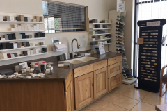 Showroom at a Solid Surface Fabricator