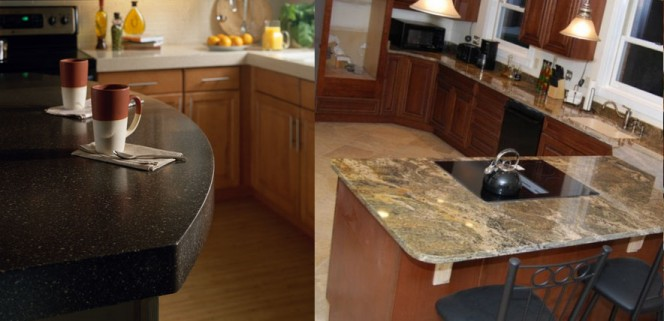 Corian vs Granite