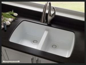 Cast Iron Undermount Kitchen Sink