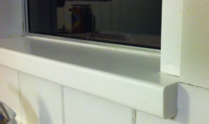 Solid Surface Window Sill