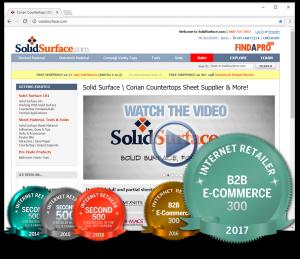 SolidSurface.com Internet Retailer Awards