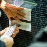 Commemorating a visit to The Wall That Heals, Courtesy of DLG Photography